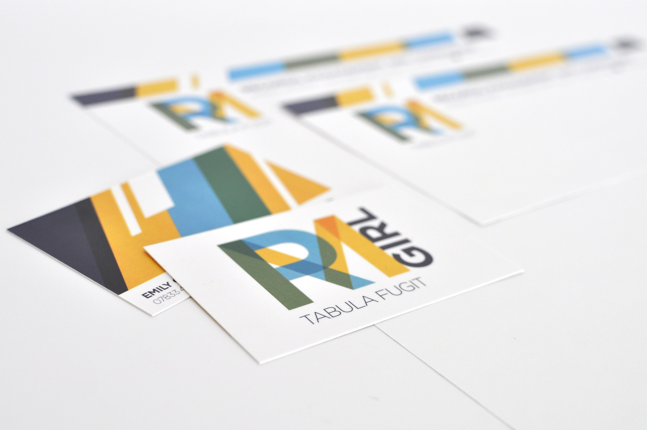 RMGirl Business Cards Logo Design