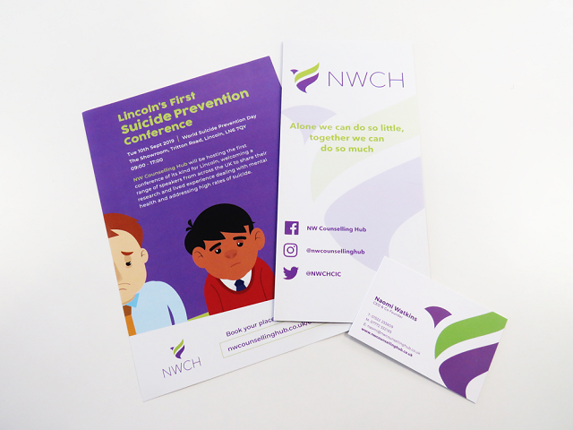 NW Counselling Hub Leaflets