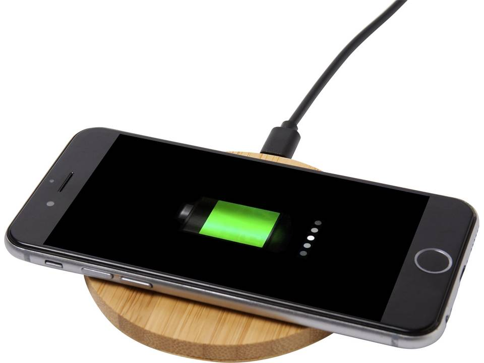 Thumbnail for Bamboo wireless charging pad