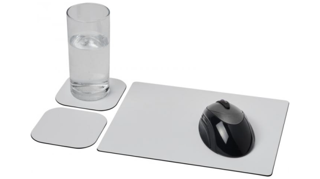 Thumbnail for Brite-Mat® mouse mat and coaster set combo 3