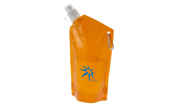 Thumbnail for Cabo 600 ml water bag with carabiner