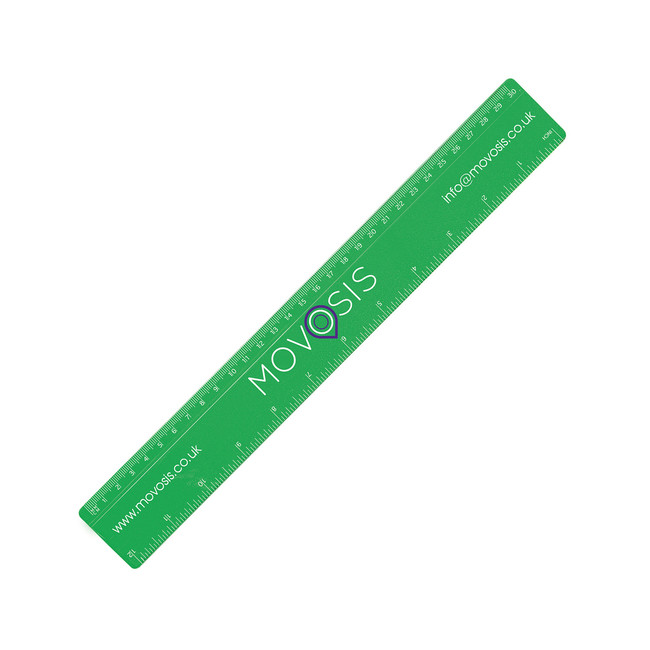 "Thumbnail for 30cm/12"" Solid Plastic Ruler"