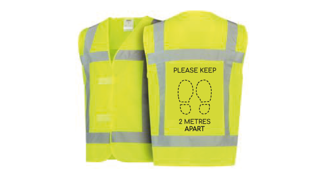 Thumbnail for Social Distancing Safety Vests