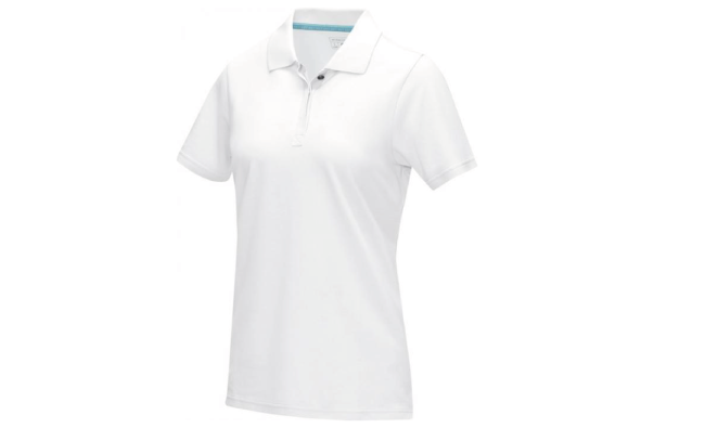 Thumbnail for Short sleeve women's GOTS organic polo